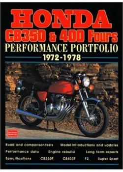 HONDA CB350 400 FOURS P.PORT 72/78
