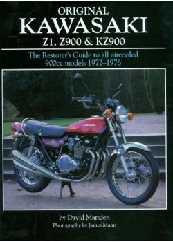 ORIGINAL KAWASAKI Z1, Z900 & KZ900 - THE RESTORER'S GUIDE ... 1972-76