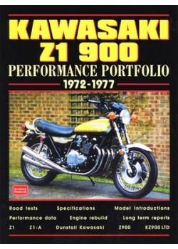 KAWASAKI Z1 900 - PERFORMANCE PORTFOLIO - 1972-77