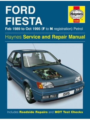 FORD FIESTA PETROL 1989-95 - OWNERS WORKSHOP MANUAL