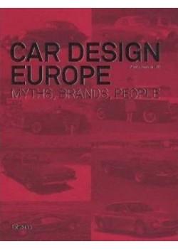 CAR DESIGN EUROPE - MYTHS, BRANDS, PEOPLE  - Livre de Paolo Tumminelli