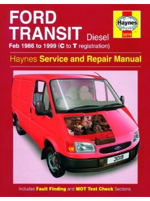 FORD TRANSIT DIESEL 1986-99 - OWNERS WORKSHOP MANUAL