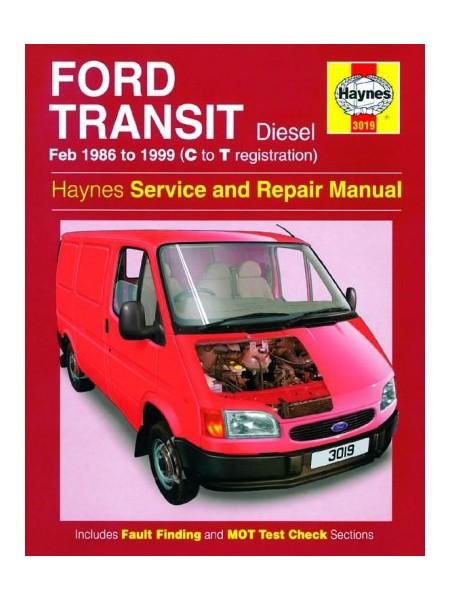 FORD TRANSIT DIESEL 1986-99 - OWNERS WORKSHOP MANUAL