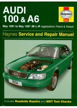 AUDI 100 & A6 PETROL & DIESEL 1991-97 - SERVICE AND REPAIR MANUAL