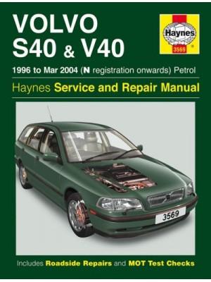 VOLVO S40 & V40 PETROL 1996-99 - OWNERS WORKSHOP MANUAL