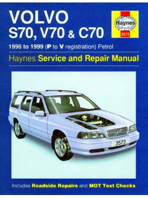 VOLVO S70 V70 & C70 1996-99 - OWNERS WORKSHOP MANUAL