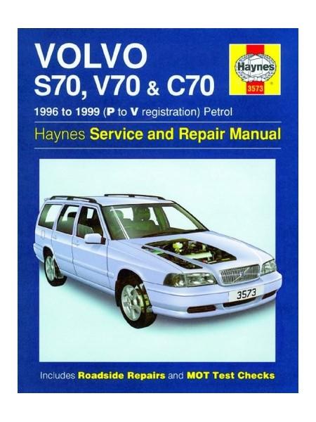 VOLVO S70 V70 & C70 1996-99 - OWNERS WORKSHOP MANUAL