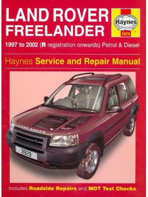 LAND ROVER FREELANDER 1997-02 PETROL & DIESEL - OWNERS WORKSHOP MANUA