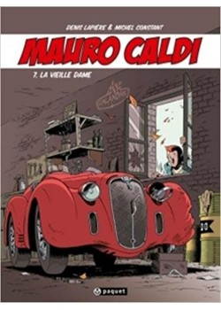 MAURO CALDI -BD-T7 : LA VIEILLE DAME