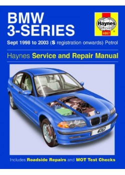 BMW 3 -SERIES PETROL E46 1998-2003 - SERVICE AND REPAIR MANUAL