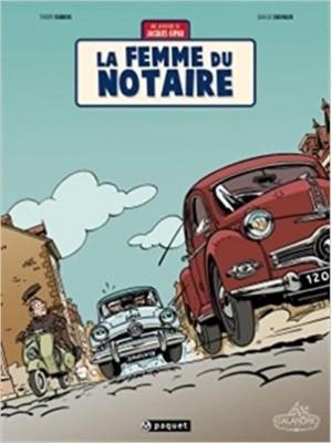 LA FEMME DU NOTAIRE - JACQUES GIPAR T4
