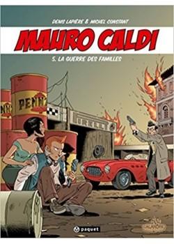 MAURO CALDI - BD - T5 : LA GUERRE DES FAMILLES
