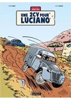 UNE 2CV POUR LUCIANO - Livre de Thierry Dubois et Jean-Luc Delvaux
