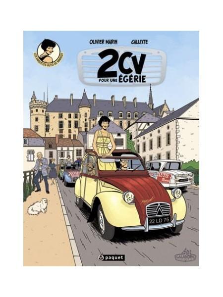 2CV POUR UNE EGERIE - LES ENQUETES AUTO DE MARGOT T3