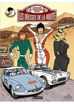 LES DEESSES DE LA ROUTE - LES ENQUETES AUTO DE MARGOT T2 - Livre de Olivier Marin, Metapat, Emilio Van der Zuiden