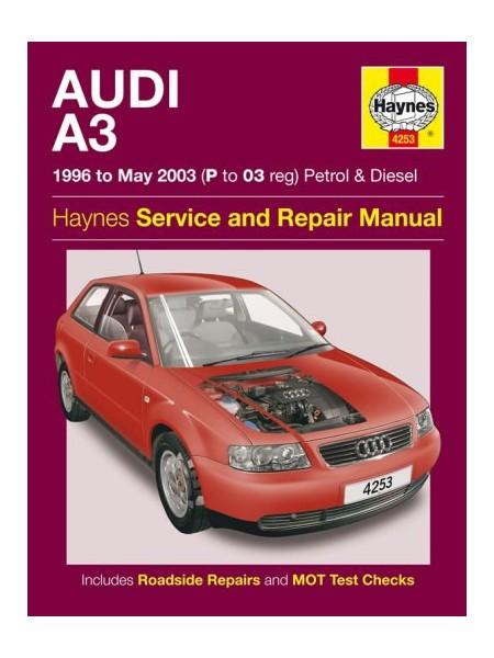 AUDI A3 PETROL & DIESEL 1996-05/2003 - OWNERS WORKSHOP MANUAL