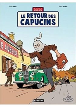 LE RETOUR DES CAPUCINS - Livre de Thierry Dubois, Jean-Luc Delvaux