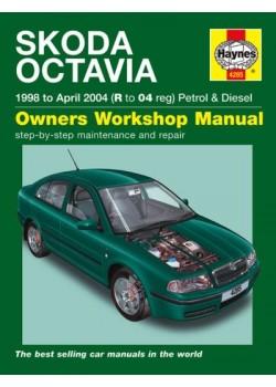 SKODA OCTAVIA PETROL & DIESEL 1998-04 - OWNERS WORKSHOP MANUAL