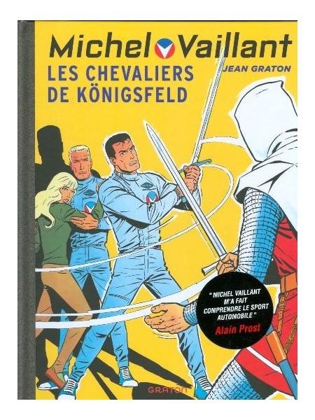 MICHEL VAILLANT T12 - REEDITION - LES CHEVALIERS DE KOENIGSFELD