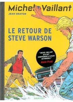 MICHEL VAILLANT T09 - REEDITION - LE RETOUR DE STEVE WARSON