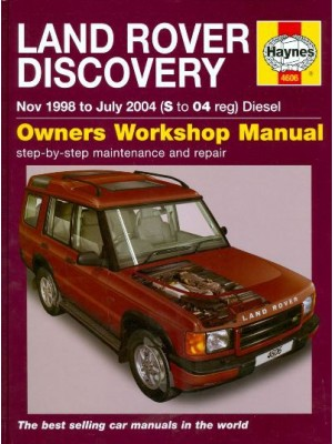 LAND ROVER DISCOVERY DIESEL 1999-04 - OWNERS WORKSHOP MANUAL