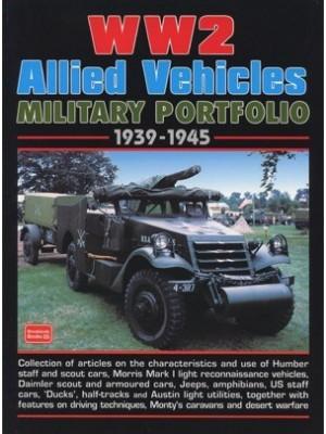 WW2 ALLIED VEHICLES MILITARY PORTFOLIO 1939-1945
