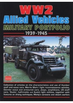 WW2 ALLIED VEHICLES MILITARY PORTFOLIO 1939-1945