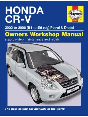 HONDA CR-V PETROL & DIESEL 2002-06 - OWNERS WORKSHOP MANUAL
