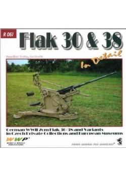FLAK 30 & 38 IN DETAIL - WWP - Livre