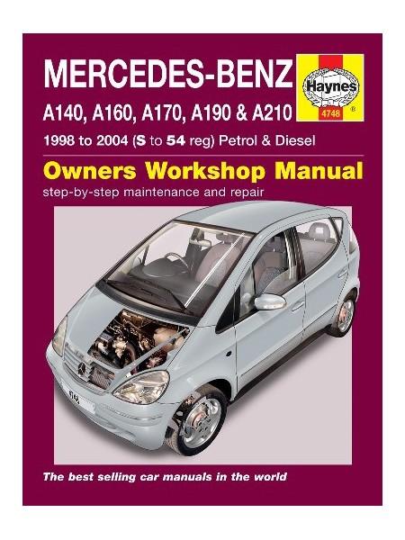 MERCEDES-BENZ A-CLASS PETROL & DIESEL 1998-04 - OWNERS WORKSHOP ...