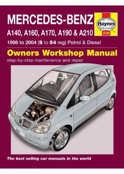 MERCEDES-BENZ A-CLASS PETROL & DIESEL 1998-04 - OWNERS WORKSHOP ...