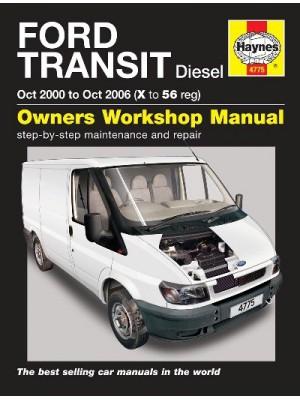 FORD TRANSIT DIESEL 2000-06 - OWNERS WORKSHOP MANUAL