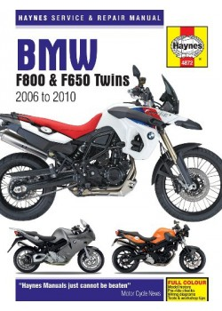 BMW F800 (F650) TWINS 2006-10 - REPAIR AND SERVICE MANUAL