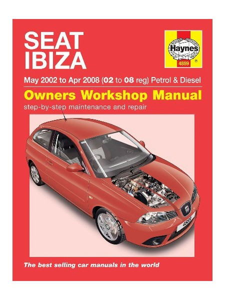 SEAT IBIZA PETROL & DIESEL 2002-08 - OWNERS WORKSHOP MANUAL