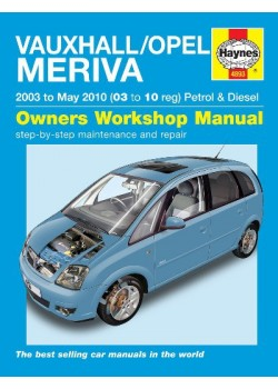 OPEL / VAUXHALL MERIVA PETROL & DIESEL 2002-10 - OWNERS WORKSHOP ...
