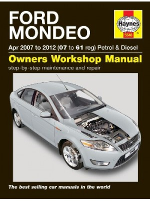 FORD MONDEO APR 2007 TO 2012 PETROL & DIESEL