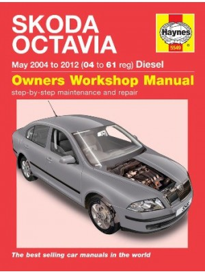 SKODA OCTAVIA MAY 2004 TO 2012 DIESEL OWNERS WORKSHOP MANUAL