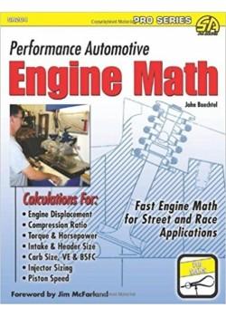 PERFORMANCE AUTOMOTIVE ENGINE MATH - Livre de John Baechtel