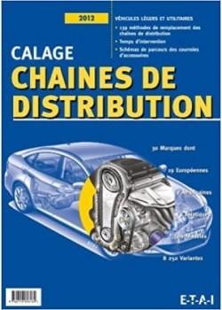 CALAGE CHAINES DE DISTRIBUTION - Livre de ETAI
