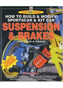 SPORTS CAR & KITCAR SUSPENSION & BRAKES - HIGH PERFORMANCE MANUAL - Livre de Des Hammill
