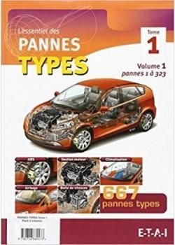 PANNES TYPES TOME 1 (VOL1 ET 2) - Livre de ETAI