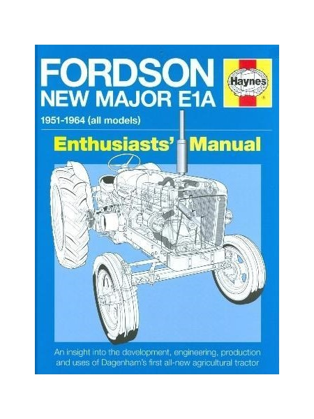 FORDSON NEW MAJOR E1A MANUAL