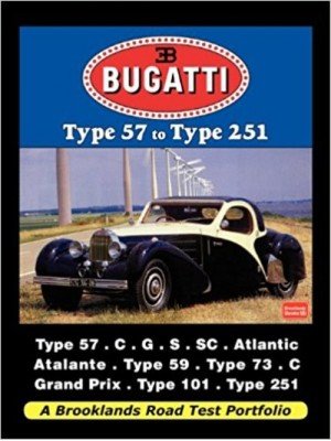 BUGATTI TYPE 57 TO TYPE 251 ROAD TEST PORTFOLIO