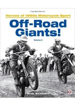 OFF-ROAD GIANTS HEROES OF 1960s MOTORCYCLE SPORT - VOLUME 2 - Livre Moto - Cyclos