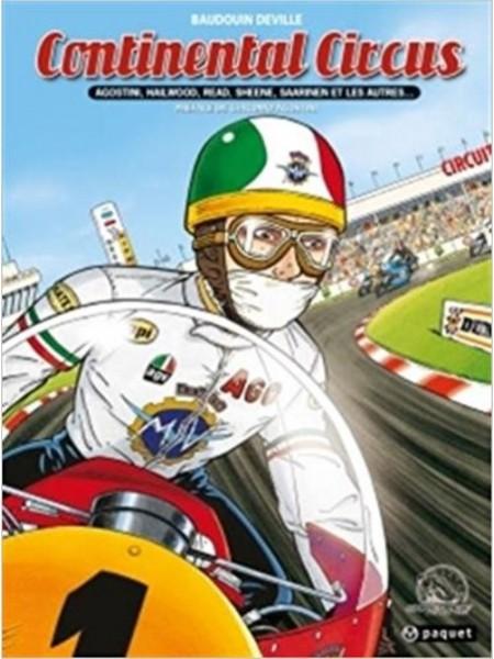 CONTINENTAL CIRCUS (BD) - Livre Moto - Cyclos