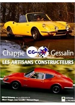 CHAPPE ET GESSALIN - CG - LES ARTISANS CONSTRUCTEURS - Livre de Michel Delannoy