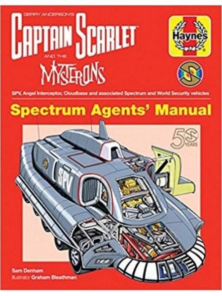 CAPTAIN SCARLETT - SPECTRUM AGENTS' MANUAL
