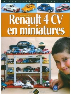 RENAULT 4CV EN MINIATURES
