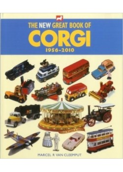 THE NEW GREAT BOOK OF CORGI TOYS 1956-2010