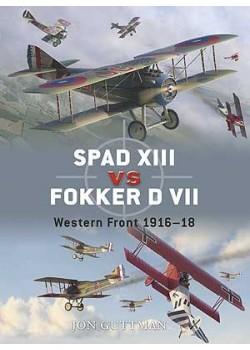 SPAD XVIII VS FOKKER DVII - 1918 - OSPREY DUEL N°17